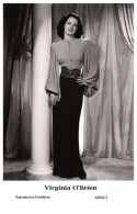 VIRGINIA O'BRIEN - Film Star Pin Up - Publisher Swiftsure Postcards 2000 - Artiesten