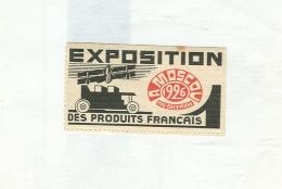 EXPOSITION DES PRODUITS FRANCAIS- MOSCOV 1926, ERINNOFILO