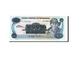 Nicaragua, 500,000 Cordobas On 20 Cordobas, 1990, KM:163, Non Daté, NEUF - Nicaragua