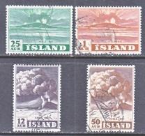 ICELAND  246-9   (o)    VOLCANO - 1944-... Republic