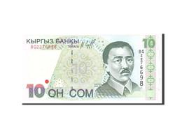 KYRGYZSTAN, 10 Som, 1997, KM:14, Undated, NEUF - Kirghizistan