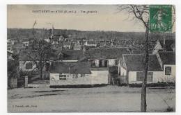 SAINT REMY SUR AVRE EN 1925 - VUE GENERALE - CPA VOYAGEE - Autres Communes