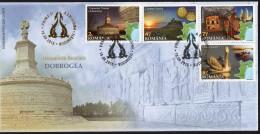 Romania 2015 / Dobrogea /  FDC From Album - Holidays & Tourism