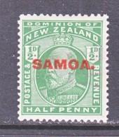 SAMOA  114  * - Samoa