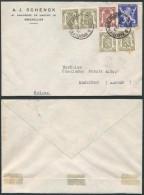 AB205 Lettre De Bruxelles à Menziken Suisse 1946 - Belgique