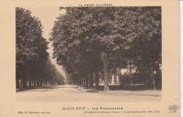 26 - DIEULEFIT La Drôme Illustrée - Les Promenades - Dieulefit