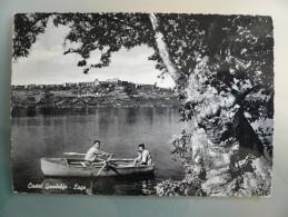Castel Gandolfo - Lago - Viaggiata 1955 - Tivoli