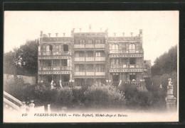 CPA Villers-sur-Mer, Villas Raphael, Michel-Ange Et Rubens - Villers Sur Mer