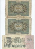 Billet Allemand - [ 3] 1918-1933: Weimarrepubliek