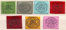 Vatican MH Set, Probably Reprint - ...-1929 Préphilatélie
