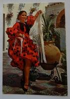 ESPAGNE FLAMENCO COSTUME TYPIQUE - Bailes