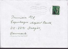 Norway TÅSEN 1997 Cover Brief Denmark Flower Blume Stamp - Norwegen