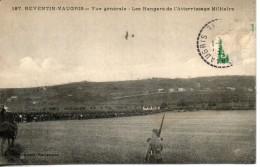 38. Reventin Vaugris. Vue Générale. Les Hangars De L'atterrissage Militaire. Coins Abimés - Autres Communes