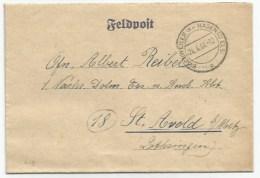 C19 - BISCHWEILER Kr HAGENAU Bas Rhin - Avril 1944  - Feldpost Avec Courrier Pour Saint Avold Lothringen Moselle  - - Guerra De 1939-45