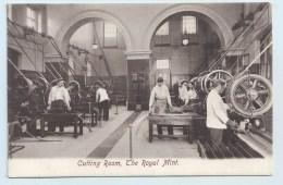 London - Royal Mint - Cutting Room - Trade
