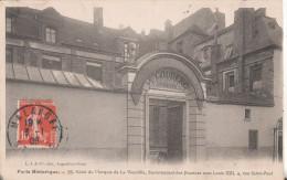 75 Paris  Marquis De La Vieuville - Arrondissement: 04