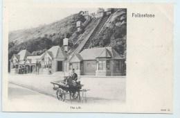 Folkestone - The Lift - Peacock - Folkestone