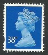 Great Britain, 38 P. 1999, Sc # MH264, Mi # 1802CS, Used - Machins