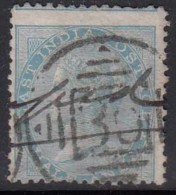 No 35, Cooper / Renouf Type 9, British East India Used 1865 - 1868 Elepahant Wmk, Early Indian Cancellations - India (...-1947)