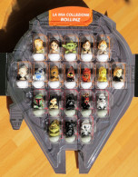 2016 Star Wars Rollinz Esselunga COLLEZIONE COMPLETA 20 Personaggi Disney + Astronave Millennium Falcon PORTA ROLLINZ - Power Of The Force