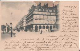 75 Paris  Rue De Rivoli Precurseur Cachet  Sept  1999 - Arrondissement: 04