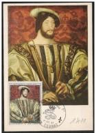 Francia/France: Maximum Card, Francesco I, François 1°, Francis I - Familias Reales