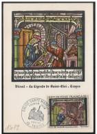 Francia/France: Maximum Card, Chiesa Di S. Maddalena, Eglise S. Madeleine, Church Of St. Maddalena - Vetri & Vetrate