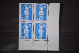 Marianne Du Bicentenaire Année 1991 N° 2716 Coins Datés 19. 8.91 Variété Décalage Du 9 De 19 - 1990-1999