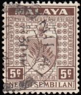 MALAYA Negri Sembilan - Scott #24 Arms (*) / Used Stamp - Negri Sembilan