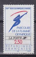 N° 2732 Parcours De La Flamme Olympique: Logo Officiel: Un  Timbre Neuf Impéccable Sans Charnière - France