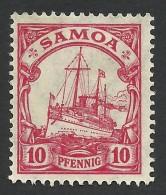 German Samoa, 10 Pf. 1915, Sc # 72, Mi # 22, MH - Colony: Samoa