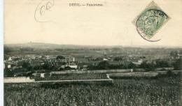 CPA 95 DEUIL PANORAMA - Deuil La Barre