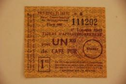 Rationnement - Billet De Café Pur - Notgeld