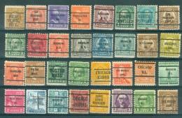 U.S.A. -  32 PRECANCELS  - Selection Nr 318 - United States