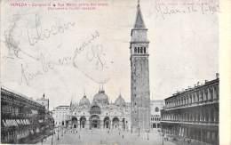 C   Campanile Di San Marco Prima Del Crollo  Um 1890 - Venezia (Venice)