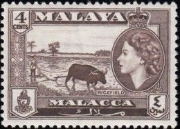 MALAYA Penang - Scott #47 Queen Elizabeth II / Mint NH Stamp - Penang