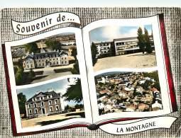 LA MONTAGNE     4 VUES    ECOLE MAIRIE - La Montagne