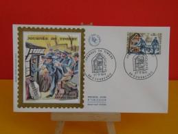 FDC- Journée Du Timbre, La Poste Aux Armées 1914/1918 - 92 Courbevoie - 27.3.1971 - 1er Jour,coté 2,50 € - - FDC