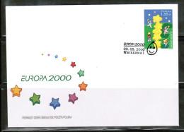 CEPT 2000 PL MI 3829 FDC POLAND - Europa-CEPT