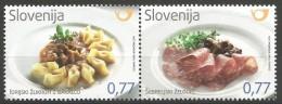 SI 2015-1178-9 GASTRONOMIA, SLOVENIA, 1 X 2v, MNH - Ernährung