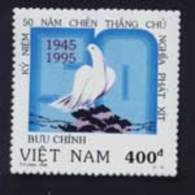 Vietnam Viet Nam MNH Perf Stamp 1995 : 50th Anniversary Of Victory Over Fascism / Peace / Bird (Ms707) - Vietnam