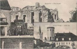 Burgruine - Pils Drupas - Schloss Wenden - Zehsu Pils - Cesis - Latvia - Tsarist Russia - Old Postcard - Unused - Lettonie