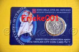 Vaticaan - Vatican - 50 Cent Coincard 2016.(7de) - Vatican