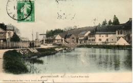 25. Montbéliard. Bassin Du Canal Et Pont Levis - Montbéliard