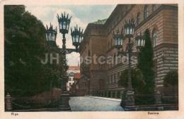 Saeima - Parliament - Riga - Old Postcard - Latvia - Unused - Lettonie