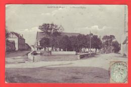 28 – SAINVILLE – La Place Et L´Église - Other Municipalities
