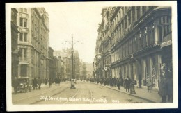 Cpa Du Pays De Galles -- Cardiff  - High Street . From Queen´s Hôtel    LIOB55 - Non Classés
