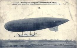 Dirigeable Français Commandant Coutelle - Trou De Punaise - Zeppeline