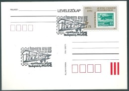 3834 Hungary SPM Transport Flight Aircraft Pilot Philately Stamp On Stamp - Airplanes