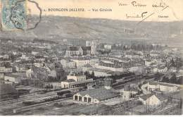 C   Bourgoin-Jallieu  Vue Générale    Um 1900 - Bourgoin